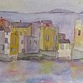 island village in Corsica by Anne McMath