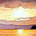 Islay And Cara From Kintyre Scotland by Paul Dene Marlor