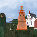 Isle La Motte Vermont Lighthouse by Anne Norskog