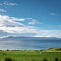 Isle Of Arran Under Cloud by David Head