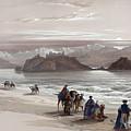 Isle Of Graia Gulf Of Akabah Arabia Petraea Feby 27th 1839 by Munir Alawi