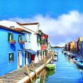 Isola Di Burano by Dominic Piperata
