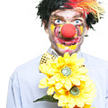 Isolated Clown In A Funny Summer Romance by Jorgo Photography - Wall Art Gallery