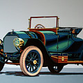 Isotta Fraschini Tipo 1911 Painting by Paul Meijering