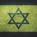 Israel Distressed Flag Dehner by David Dehner