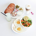 Israeli Breakfast by Oren Shalev