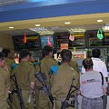 Israeli Soldiers Stop At A Kosher Mcdonald's by Susan Heller