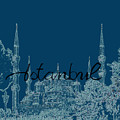 Istanbul Blue Mosque by Emily Kay