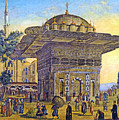 Istanbul Outdoor Bazaar by Munir Alawi