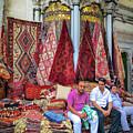Istanbul Rug Merchants by Ross Henton