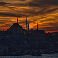 Istanbul Sunset - A Call To Prayer by David Smith
