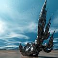 It Fell To Earth by Sandra Bauser Digital Art
