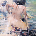 Italian Bathers 2 by Tony Belobrajdic