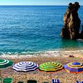 Italian Beach Scene by John Wong