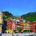Italian Beachside  by Gary Hopkins