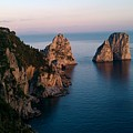 Italian Cliffs by Rose Cottage Ltd