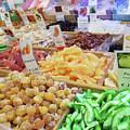 Italian Farmers Market Dried Fruits by Irina Sztukowski