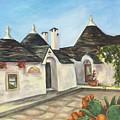 Italian Farmhouses  by Laura Napoli