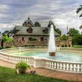 Italian Fountain Maymont  by Karen Jorstad