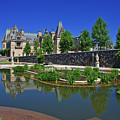 Italian Gardens At Biltmore In Asheville by Jill Lang