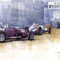 Italian Gp1937 Livorno  by Yuriy Shevchuk