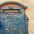 Italian Mailbox by Silvia Ganora