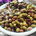 Italian Market Olives by Irina Sztukowski