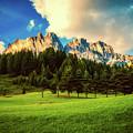 Italian Mountain Meadow by Pixabay
