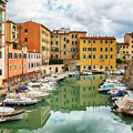 Italian Old Town Livorno  by Ariadna De Raadt
