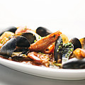 Italian Traditional Seafood Stew  by Jacek Malipan