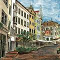 Italian Village 1 by Debbie DeWitt