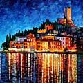 Italy - Verona by Leonid Afremov