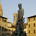 Italy, Florence, Neptune Fountain by Sisse Brimberg & Cotton Coulson