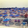 Italy, Sanremo, The Beach. by Adriano Bussi