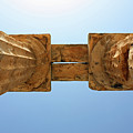 Italy, Sicily - Segesta Temple Detail by Paolo Modena