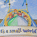 It's A Small World Entrance Original Work by David Lee Thompson