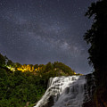 Ithaca Falls By Moonlight by Michele Steffey