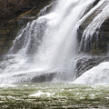 Ithaca Falls On Fall Creek - Mountain Showers by Christina Rollo