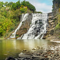 Ithaca Falls by Karen Jorstad