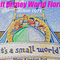 It's A Small World Poster Art by David Lee Thompson