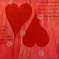 Its All About Love by Sheila Yackley Prophetic Pieces