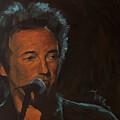 It's Boss Time - Bruce Springsteen Portrait by Khairzul MG