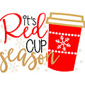 It's Red Cup Season by Cindy Thomas