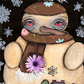 It's Snowing by  Abril Andrade Griffith