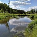 It's So Calming Here In Odrzywol by Arletta Cwalina