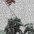 Iwo Jima War Mosaic by Paul Van Scott