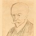 J.-k. Huysmans by Jean-louis Forain