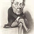 J. Marie Joseph Deville by Honor? Daumier