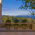 J Paul Getty Center Museum Terrace by David Zanzinger