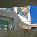 J. Paul Getty Museum Abstract View by David Zanzinger